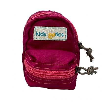 Mini Pink Backpack Front