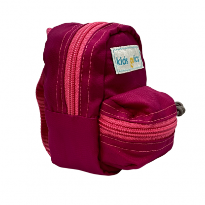 Mini Pink Backpack right